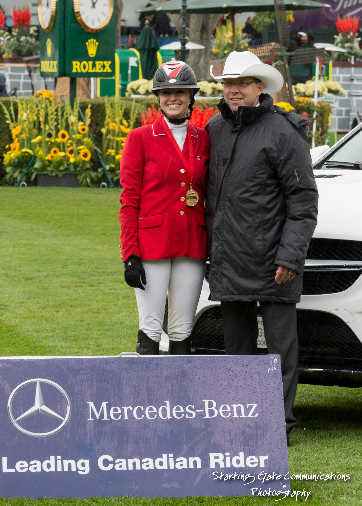 Tiffany foster crowned mercedes benz leading canadian rider for Mercedes benz finance canada
