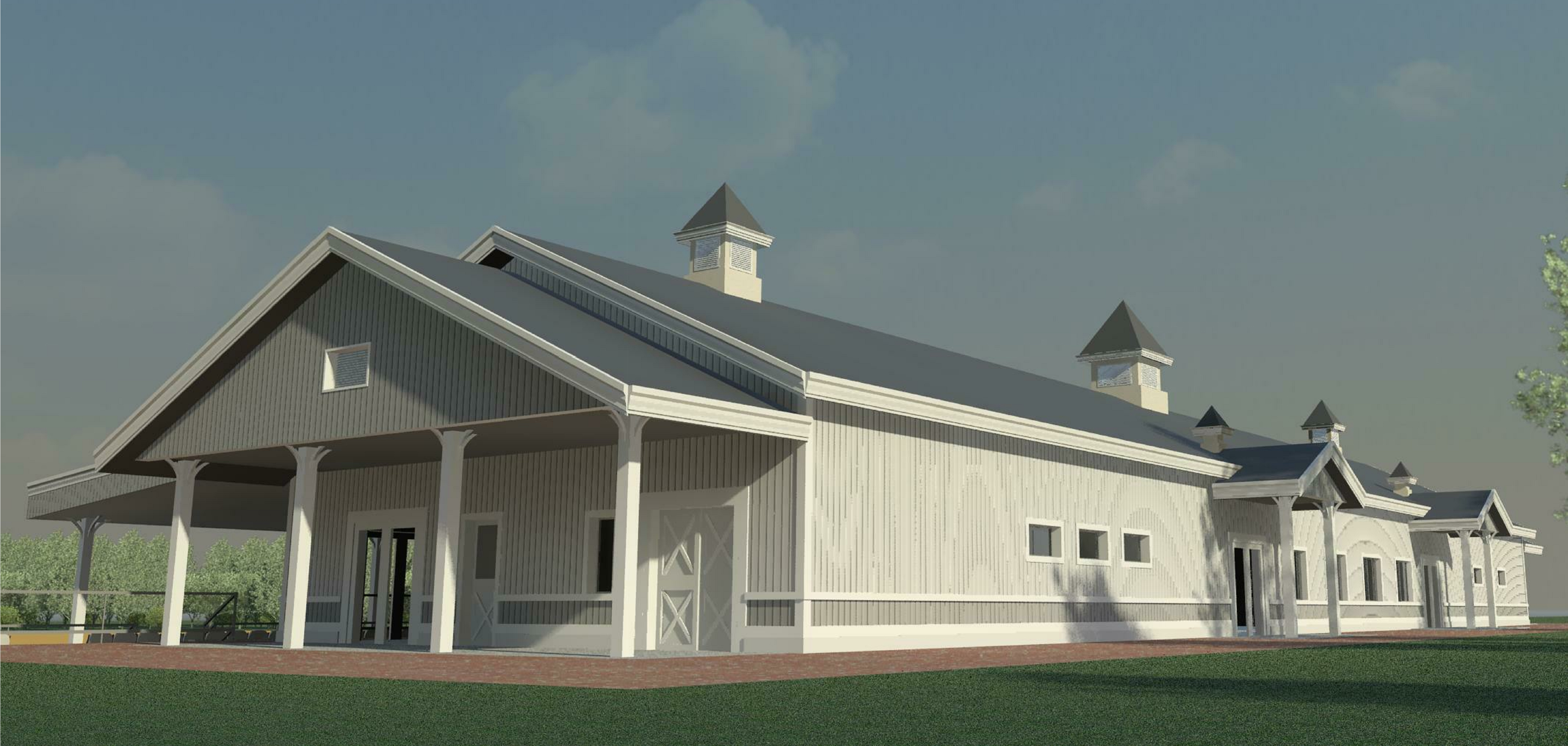 Artists Rendering Of The New Pavilion At Caledon Pan Am Equestrian Park Photo By Courtesy Management Group