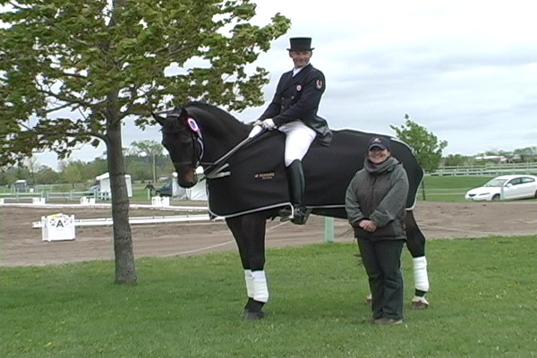 Hot Competition At Ottawa Spring Dressage Classic